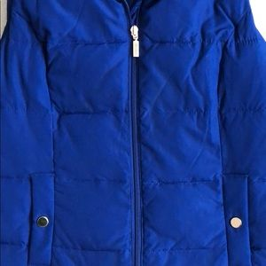 Charter Club Jackets & Coats - Blue Quilted Vest